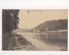 La Meuse a Beez Belgium Vintage Postcard 291b