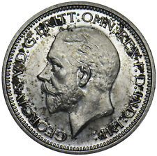 More details for 1929 maundy fourpence - george v british silver coin - superb