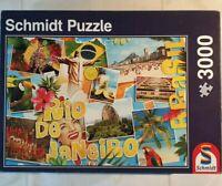 Rio-De Janeiro 3000 piece Jigsaw Schmidt RARE puzzle 1 of 1 ebay UK