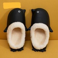 Comfy Feet Penguin Slippers Size Large Mens 8-9.5 Woman's 10-10.5 New With Tags
