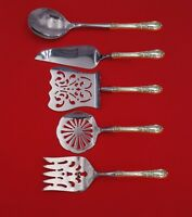 American Victorian by Lunt Sterling Silver Brunch Serving Set 5pc Custom Made