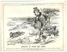 PAINTINGS DRAWING CARICATURE WILHELM KAISER WAR WWI RUSSIA DEVIL PRINT LV3075