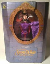 "*MIB* DISNEY GREAT VILLAINS COLLECTION EVIL QUEEN DOLL 12"" SNOW WHITE 1998"