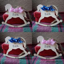 Horse Personalised Handmade Baby ornament-1st xmas- Girl, Boy