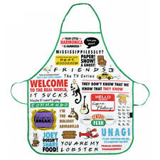 Friends Quotes Cotton Apron in a Gift Box - APRTFDS01