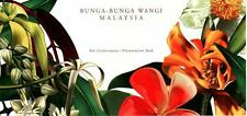 Malaysia 2001 Scented Flowers of Malaysia ~ S/Pack