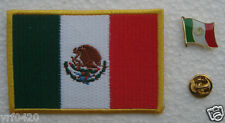 Mexico National Flag Pin and Patch Embroidery