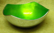 Recycled Aluminium Enamel Fair Trade Lime Green Fruit Trinket Keys Bowl - AL78