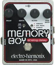 Electro-Harmonix Memory Boy Analog Delay Guitar Effects Pedal