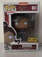Funko POP! The Legend of Korra Hot Topic Exclusive Korra Vinyl Figure #801