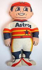 Vintage Houston Astros Stuffed Toy Doll Baseball MLB Texas TX Astrodome RARE