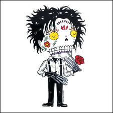 Edward Scissorhands - Weather Proof Die Cut Vinyl Day of the Dead Sticker