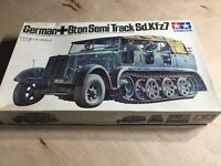 Tamiya German 8ton Semi Track Sd.Kfz7 Tamiya 1/35 Motorized Plastic Model Kit