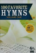 100 Favorite Hymns, Vol. 1 [Box] by Various Artists (CD, 2013, 4 Discs, Under Go