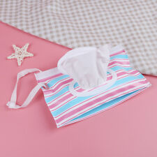 Outdoor travel baby newborn kids wet wipes bag towel box clean carrying case Hl