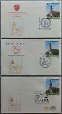 2020 Basilica di Aquileia - Italia Vaticano SMOM - first day covers fdc