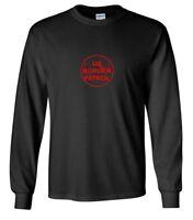 Red US Border Patrol Logo T-Shirt Trump Immigration Black Long Sleeve Shirt