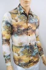 Vtg 1970s Chemise Playboy LeRoy Neiman Femlin Nude Ladies Pin Up DiScO Shirt S M
