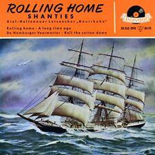 "7"" KIEL-HOLTENAUER LOTSENCHOR KNURRHAHN Rolling Home POLYDOR Shanty EP orig.1961"