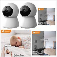 Juego De 2 Camaras HD 1080P Para Monitoreo Bebe Baby Niño Niña Abuelo Abuela Dog