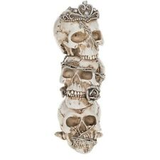Gothic Ghouls Tower of Skulls Figurine, Death, Halloween, Collectables 281863