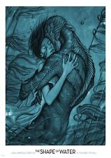 The Shape of Water - A4 Glossy Poster - Film Movie Free Shipping #116