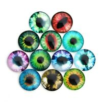 20pcs Realistic DIY Eyes Glass Doll Retro Toys Eyes for Kids Dolls
