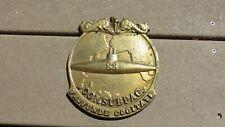 Vietnam Era Usn Us Navy Comsubpac Commander Submarine Force Pacific Brass Plaque