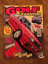 Golf Xtreme Magazine Aug 1998 Classic VW Mk1 Mk2 Mk3 Mk4 Golf, Corrado, Jetta