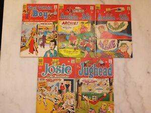 archie comic book lot 11, 17, 21, 53, 186
