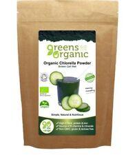 Greens Organic Chlorella Powder Diet Detox Aging Fibre Hair Nail Skin Supplement