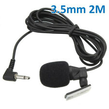 3.5 MM Car Stereo External Microphone For Bluetooth Enabled Stereo GPS DVD Radio