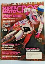 SUPER MOTOCROSS MAGAZINE OCTOBER 1989 VERY GOOD CONDITION