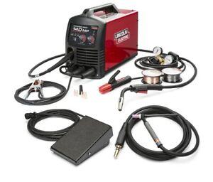 Lincoln Power MIG 140MP Multi-Process Welder TIG One Pak K4499-1