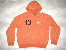 NIKE Univ of TEXAS UT Longhorns Football Double Zip Hoodie Sweater LARGE  L USED