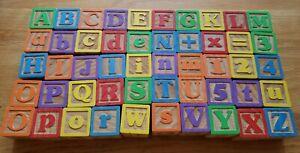 Garanimals 50 Color Wooden Adorable Alphabet, Numbers, Pictures, Building Blocks