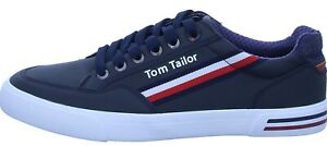 Tom Tailor Herren Sneaker Blau Gr.44  1183207 Halbschuh Freizeitschuh (21803)