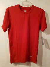 Eastbay Evapor Compression Mens Short Sleeve Shirt M Red  NWT