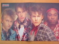 BIG COUNTRY check shirts Centerfold magazine POSTER  17x11 inches