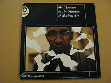 Milt Jackson at the Museum of Modern Art Live Mercury Records Netherlands Vinyl