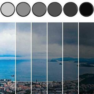 ND2-400 46 49 52 55 58 67 72 77 82mm Camera Adjustable Density filter R6E8