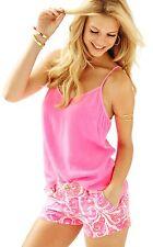 NWT Lilly Pulitzer Pink Pout PBJ Walsh Shorts, Sz 4, $64