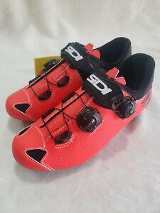 Men's Sidi Scarpe Genius 10 Road Cycling Bicycle Shoes Size 38 Eur 5-5.5 US