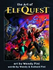 ART OF ELFQUEST HARDCOVER by WENDY & RICHARD PINI Covers, Sketches & More! HC