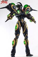 "Sanken Bioboosted Guyver Gigantic Armor III Black Color 1/6 Scale 18"" tall LED"