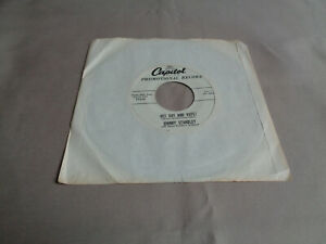 "Johnny Standley - Get Out and Vote! - Capitol 7"" Vinyl 45 - Promo - 1956 - VG"