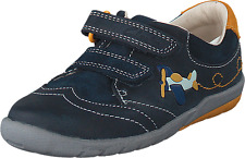Clarks Softly Liam 1st shoes boy size 3.5 F RRP $89.95