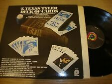 T Texas Tyler - Deck Of Cards  - LP Record  NM NM