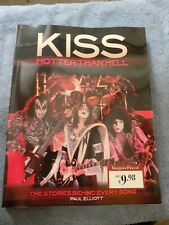 Kiss Hotter Than Hell Book stories behind every song Paul Elliott Used See Pics.