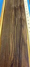 "Ebony Macassar  wood veneer 5"" x 114"" raw no backing 1/42"" thickness ""AA"" grade"